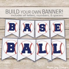 Relief Society Birthday Game - Find the Sister – AspenJay Baseball Pennants, Baseball Letters, Baseball Buckets, Baseball Scores, Baseball Crafts, Pennant Flags, Baseball Field, Baseball Birthday Party, Baby Shower Bingo