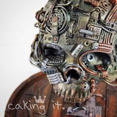 Are you kidding me? This designer is INCREDIBLE!!  I was lucky enough to take part in this brilliant collaboration: SUGAR SKULL Bakers 2014… Happy Dia De Los Muertos! It's a day we can remember those who have gone before us. Many cakers from all over the world were asked to create a sugar skull,...