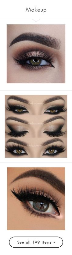 """""""Makeup"""" by atomicriley ❤️ liked on Polyvore featuring beauty products, makeup, eye makeup, eyeshadow, eyes, beauty, palette eyeshadow, lip makeup, lipstick and filler"""