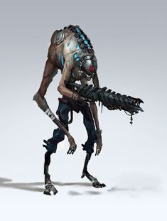 Ideas For Alien Concept Art Monsters Sci Fi Concept Art Alien, Concept Art World, Creature Concept Art, Creature Design, Alien Character, Character Concept, Character Art, Character Design, Character Sketches