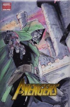Doctor Doom by Clay Mann *