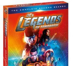 DC's Legends of Tomorrow Season 2(DVD 20174-Disc Set)
