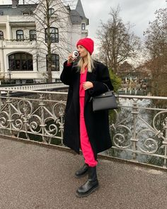 Drop Crotch Joggers, Christmas Day Outfit, Hermes, Leonie Hanne, Next Clothes, Chanel, Color Rosa, Winter Looks, European Fashion