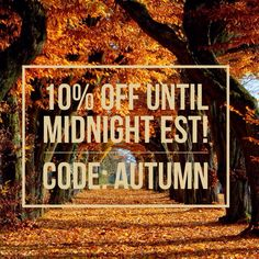 Autumn is in the air!  Coupon Code: AUTUMN #iconclothinginc #shopbyicon Icon Clothing, Coupon Codes, Coding, Neon Signs, Autumn, Fall Season, Fall, Programming