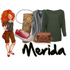 Merida-Modern Disney Princess Fashion