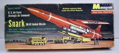 Monogram - Snark SM-62 guided missile model kit