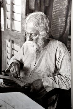 Rabindranath Tagore Bengali Author of Gitanjali , he became the first non-European:Nobel Prize in Literature in Rabindranath Tagore, People Reading, Michel De Montaigne, Beautiful Verses, Nobel Prize In Literature, Book Writer, Story Writer, Writers And Poets, Playwright