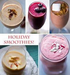 5 Holiday Smoothie Recipes! plus, iPhone App Update.