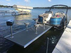 Pontoon Dock, Pontoon Boat Party, Pontoon Boats For Sale, Pontoon Houseboat, Pontoon Stuff, Jet Ski, Pontoon Boat Accessories, Party Barge, Boat Cleaning