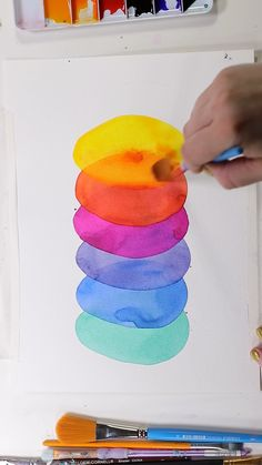 watercolor art easy * watercolor art for beginners & watercolor art easy & watercolor art ideas & watercolor art for beginners simple & watercolor art for beginners tutorials & watercolor art abstract & watercolor art flowers & watercolor art aesthetic Watercolor Paintings For Beginners, Watercolour Tutorials, Watercolor Pencil Art, Painting Art, Simple Flower Painting, Simple Watercolor Paintings, Abstract Watercolor Tutorial, Kids Watercolor, Watercolor Projects