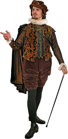 Medieval/Elizabethan Man Costume at Boston Costume