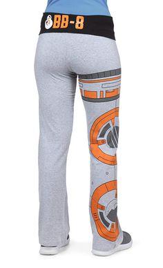Star Wars BB-8 Yoga Pants