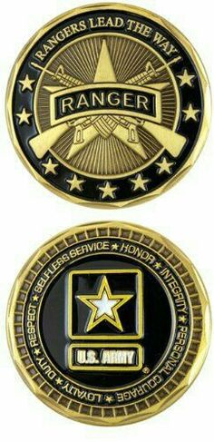 Show your Army pride carrying your highly detailed collectors Army Ranger Challenge Coin. Great to display at home, to show your service buddies & carry wherever you go. Gi Joe, Coin Collecting Books, Airborne Ranger, Us Army Rangers, 75th Ranger Regiment, Military Challenge Coins, Military Memorabilia, Army Family, Special Forces