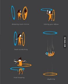Things you can do with portals.