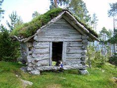 viking decor of old   1000 year old viking hut - norway