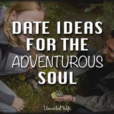 Date Ideas For Adventurous Couples – Geocaching --- Read More Here http://unveiledwife.com/date-ideas-for-adventurous-couples-geocaching/ #marriage #love