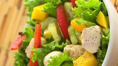 Ceia de Natal 2019: veja o que servir e ideias simples para decorar Potato Salad, Food And Drink, Ethnic Recipes, Christmas, Tropical, Gold Christmas, Fruit Ideas, Suppers, Top Recipes