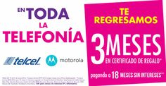 Suburbia celulares Telcel y Motorola