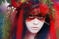 Forest Fairy Makeup | 68 non-scary Halloween costumes, make-up and hairstyles ideas