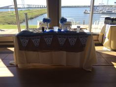 Head table at the wedding