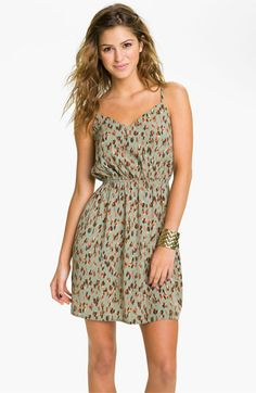 Soprano Print Dress (Juniors) available at #Nordstrom
