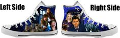 Doctor Who Converse All Star Shoes. I seriously want these