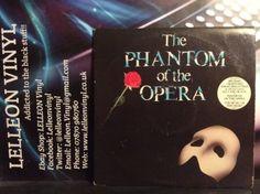 Phantom  Of The Opera LP Album Musical PODV9 Andrew Lloyd Webber Music:Records:Albums/ LPs:Soundtracks/ Themes:Musicals