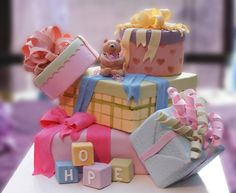 presents cake