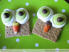Graham Cracker Owls