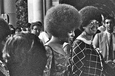Angela Davis enters Royce Hall for first lecture October 7 1969 - Afro - Wikipedia, the free encyclopedia
