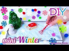 How To Make A Miniature Winter Zen Garden – DIY Stress-Relieving Desk Decoration - YouTube