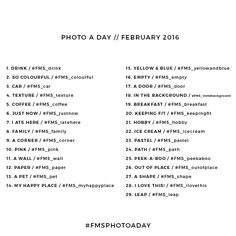 Photo A Day Challenge // February 2016 - Fat Mum Slim