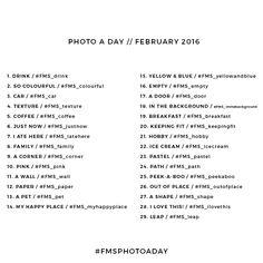 Photo A Day Challenge // February 2016 - Fat Mum Slim