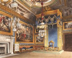 The King's Audience Chamber, Windsor Castle, 1819