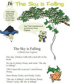 Grade 2 Reading Lesson 16 Fables And Folktales The Sky Is Falling
