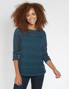 Whether it's a casual tee you're looking for or a pretty lace top, freshen up your wardrobe with the FatFace women's tops and t-shirts. Deep Teal, Fat Face, Clothes For Women, Lace, Womens Fashion, Thumbnail Image, Pretty, Model, T Shirt