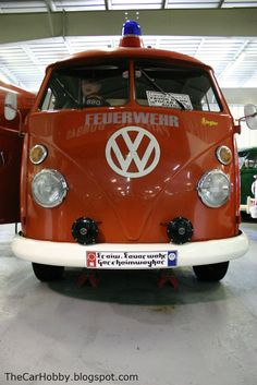 Volkyland Spotlight - VW T1 Type 21 F - Fire Engine | The Car Hobby
