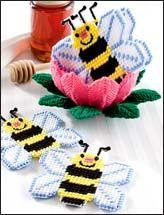 Honey Bee Coaster Set