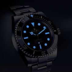 Rolex Submariner 114060 in night