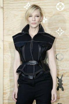 Cate Blanchett April 11,2017 in Paris