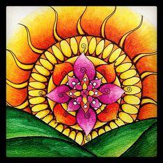 Sketchbook mandala | Flickr - Photo Sharing!