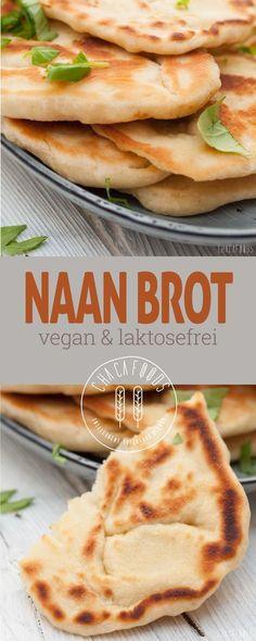 selbstgemachtes Naan Brot, super einfaches veganes Rezept