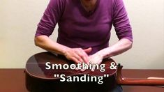 """Sanding"" Lesson: Relax Fingers & Hand Tension"