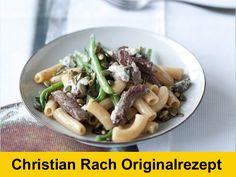 Sonntagsschmaus: Pasta mit Rindfleisch, Bohnen und Gorgonzola | eatsmarter.de