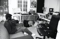 Flying Lotus' home studio