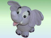 Häkelanleitung Elfi der Elefant