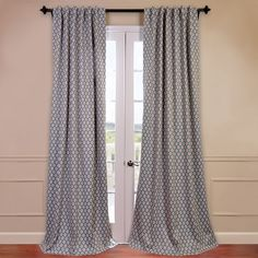 Off White Velvet Blackout Extra Wide Curtain Panel One To Make The Roman Shade From
