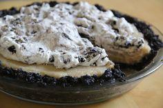 Coconut, Cookies and Cream Pie (No-Bake)