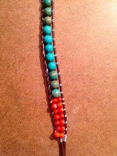 Beaded Wrap Bracelet DIY | south moon under