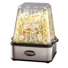 Theater Popcorn Maker in Stainless Steel